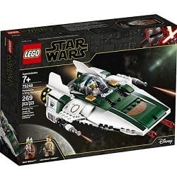 LEGO The Rise of Skywalker A-wing Starfighter