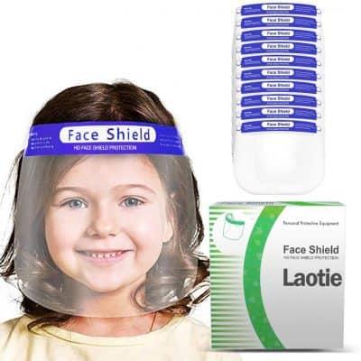 Laotie Kids Plastic Face Shield