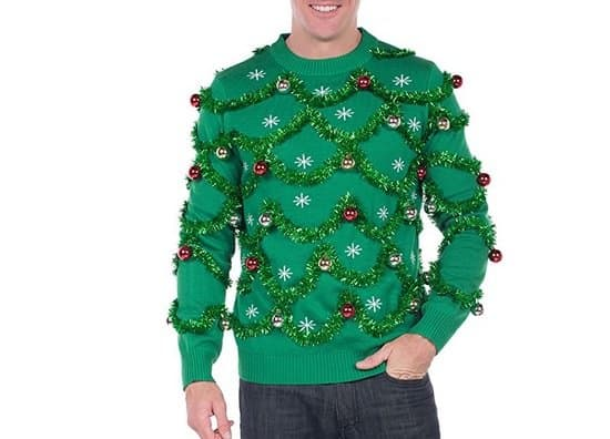 Tipsy Elves Gaudy Garland Sweater