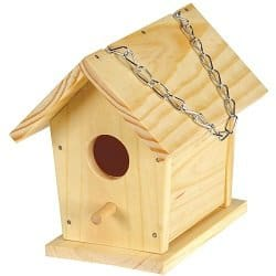 Build and Paint a Birdhouse