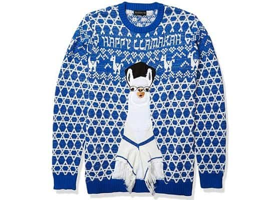 Happy Llamakah Sweater