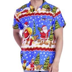 Hawaiian Christmas Shirt