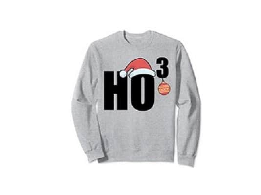Ho to the Third Sweatshirt