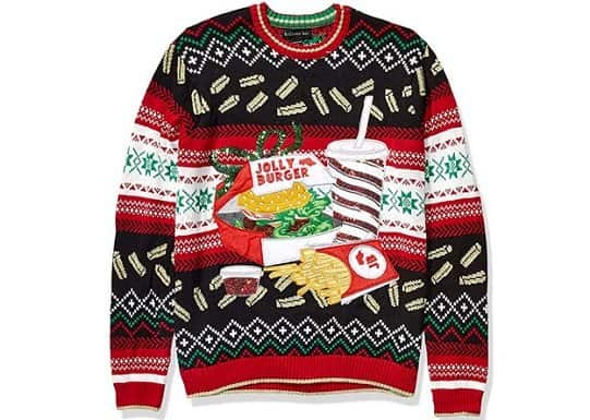 Jolly Burger Sweater