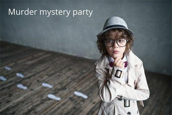 Murder mystery Halloween