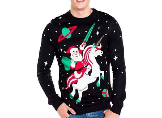 Elves Santa Unicorn