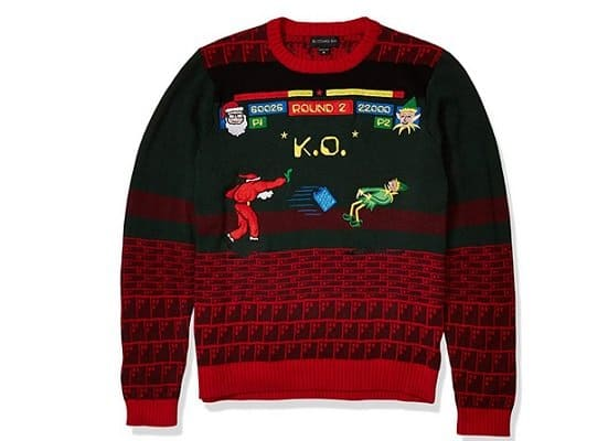 Video Game Christmas Sweater