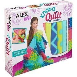 ALEX DIY Knot-A-Quilt Pattern