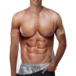 Fake Muscle Shirt