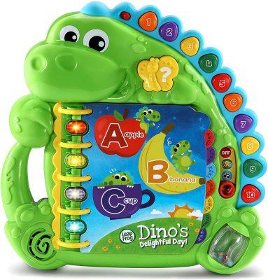 LeapFrog Dino's Delightful Day Alphabet Book