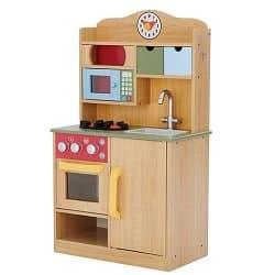 Little Chef Wooden Play Kitchen