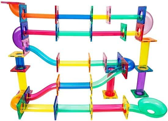 PicassoTiles Magnetic Marble Run