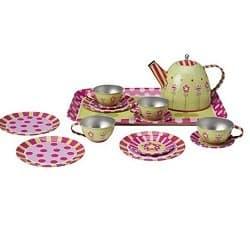Pretend Tin Tea Set