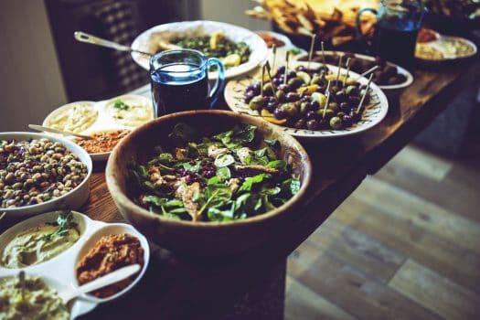 Potluck Thanksgiving Meal