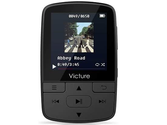 Victure MP3 Player Clip