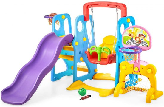 kealive Climber and Swing Set