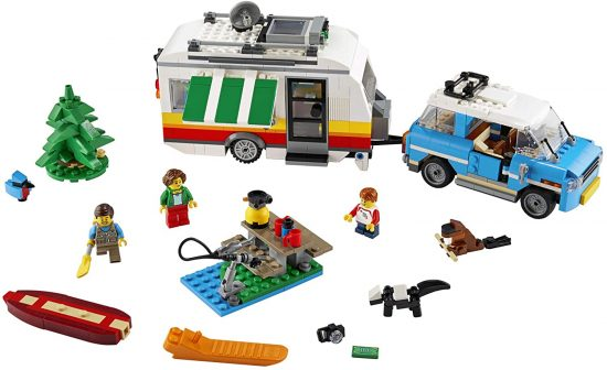 3-in-1 Caravan Family Holiday 31108