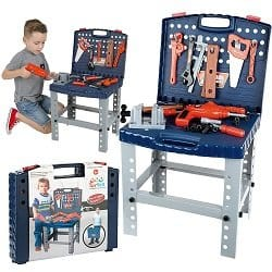 Toy Workbench with Tools