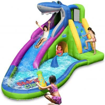 ACTION AIR Inflatable Waterslide and Bounce House