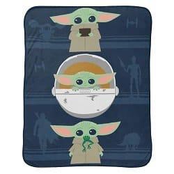 Baby Yoda 46″ x 60″ Plush Throw