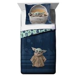 Baby Yoda Comforter and Sham Set