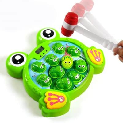 Interactive Whack-a-Frog Game