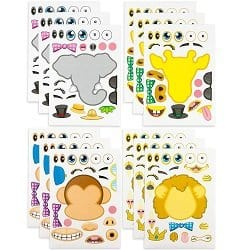 Make-a-Zoo Animal Sticker
