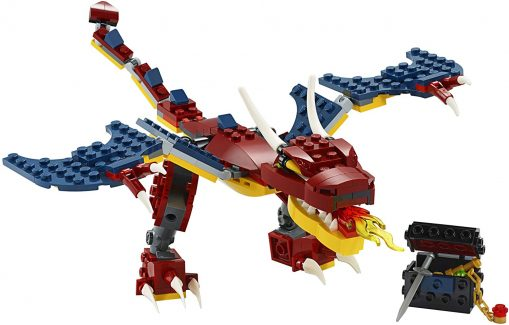 LEGO Creator 3in1 Fire Dragon 31102
