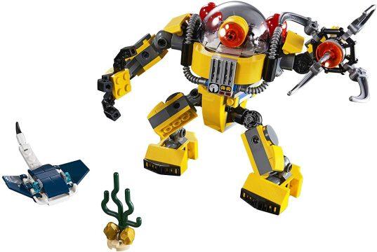 LEGO Creator 3in1 Underwater Robot 31090