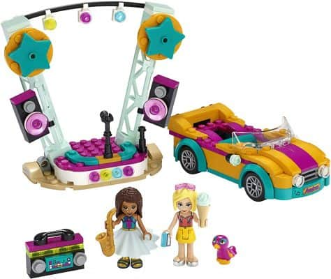 LEGO Friends Andrea's Car & Stage Playset 41390