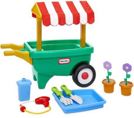 Little Tikes 2-in-1 Garden Cart and Wheelbarrow