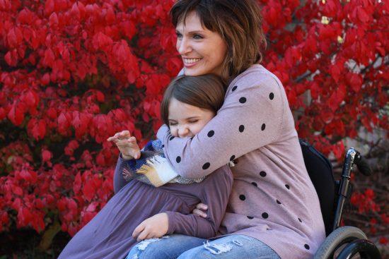 Meg Johnson and daughter