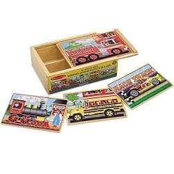 Melissa & Doug Vehicle Puzzles