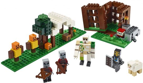 Minecraft The Pillager Outpost 21159