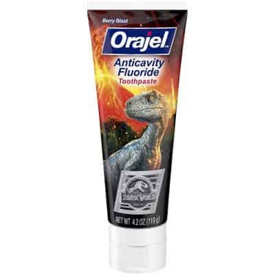Orajel Jurassic World Toothpaste