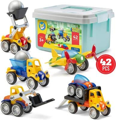 Play Brainy Magnetic Cars