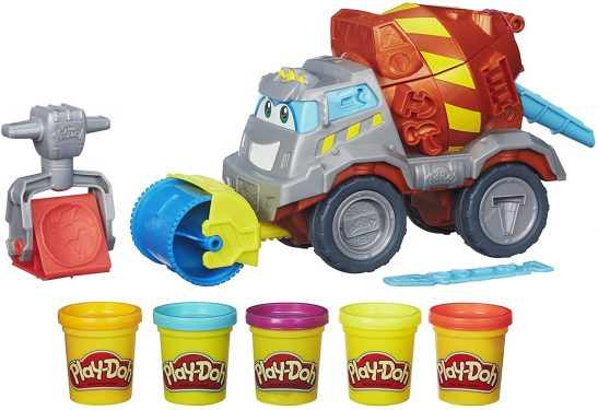 Play-Doh Cement Mixer