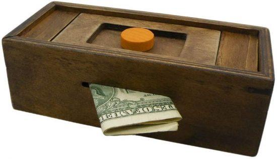 Puzzle Box Money Holder