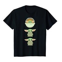 The Child Cartoon Poses T-Shirt
