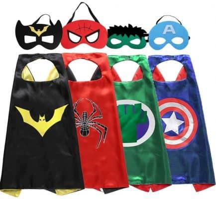 Superhero Capes and Masks