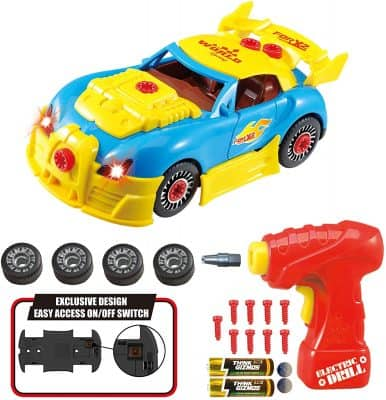 Take Apart Toy Racing Car