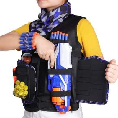 UWANTME Detachable Tactical Vest Kit