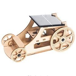 Wooden Model Solar Car