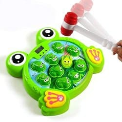 Whack-a-Frog Game