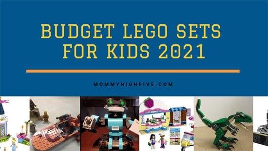 Budget LEGO sets for Kids 2021