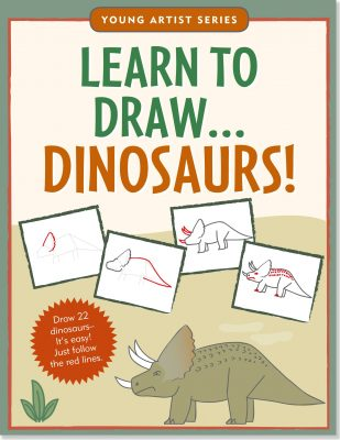 Learn To Draw Dinosaurs!