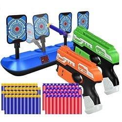 POKONBOY Blaster Gun and Target Set