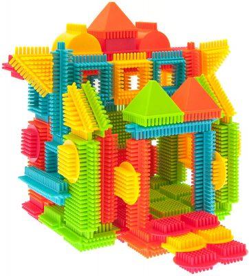 PicassoTiles Bristle Shape 3D Building Blocks