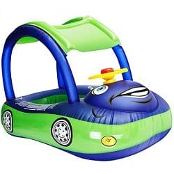 Car Baby Pool Float