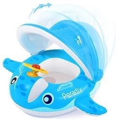 Whale Baby Pool Float